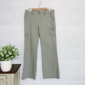 Anthro, DOTL Green Cardigan Straight Leg Pants 722